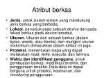 atribut berkas1