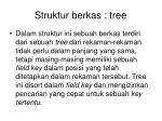 struktur berkas tree