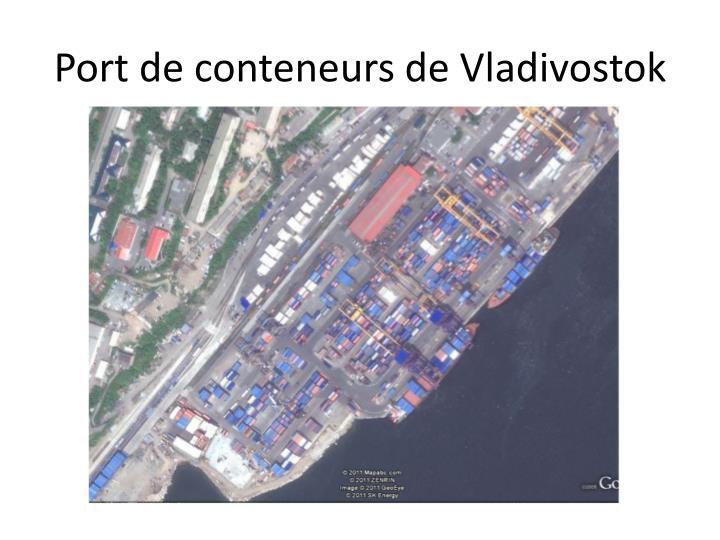 Port de conteneurs de Vladivostok