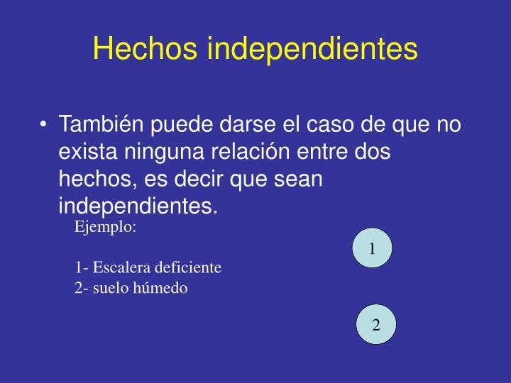 Hechos independientes