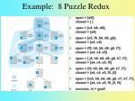 example 8 puzzle redux