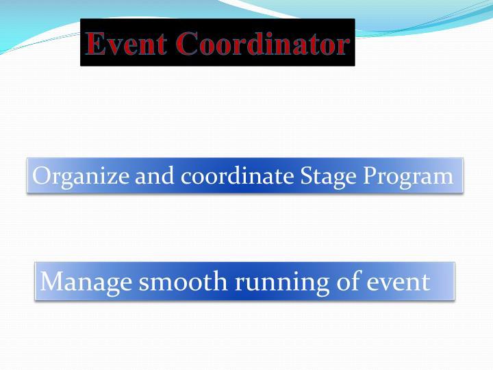 Event Coordinator