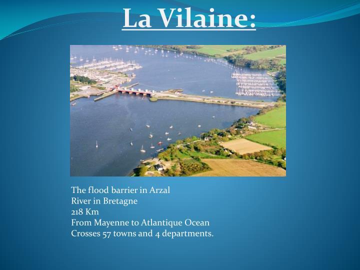 La Vilaine: