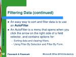 filtering data continued1