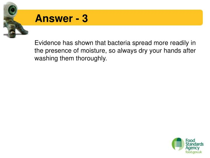 Answer - 3