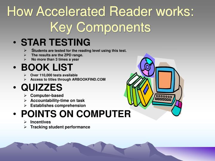 How Accelerated Reader works: