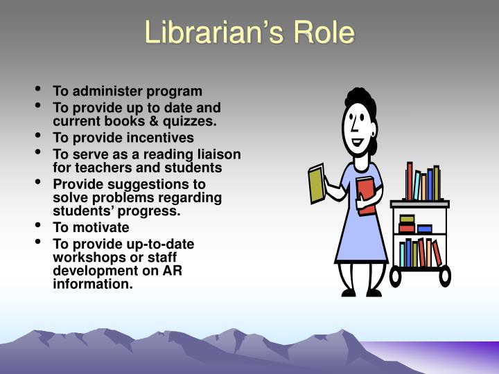 Librarian's Role