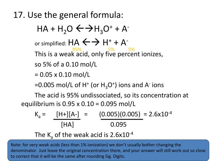 17. Use the general formula: