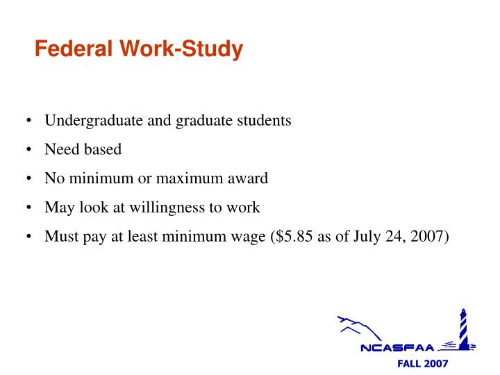 Federal Work-Study