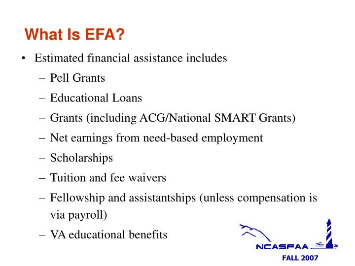 What Is EFA?