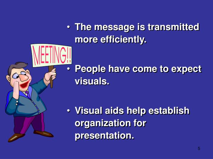 The message is transmitted more efficiently.