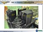tirs in chamber calibration gse