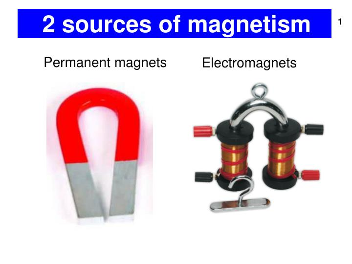 PPT - 2 sources of magnetism PowerPoint Presentation - ID:5402475