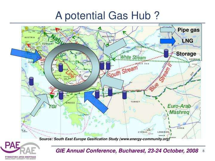 A potential Gas Hub ?