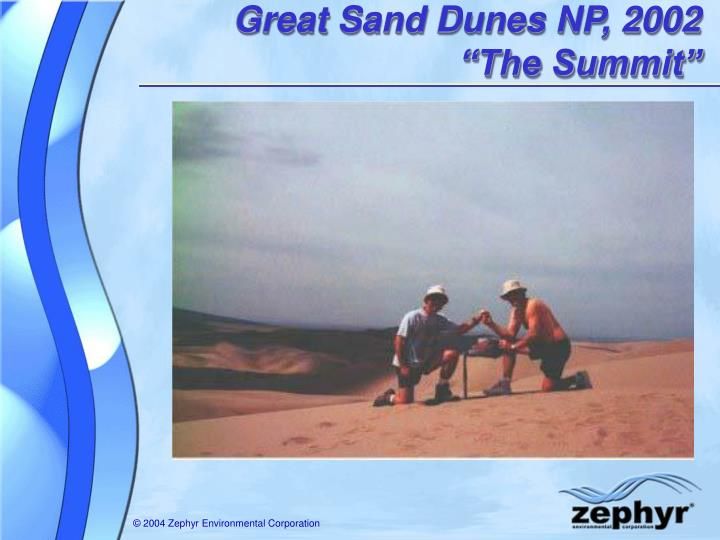 Great Sand Dunes NP, 2002