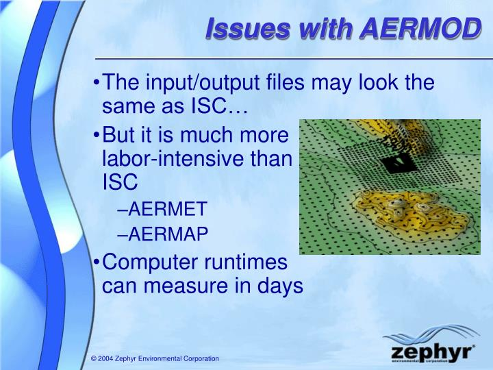 Issues with AERMOD