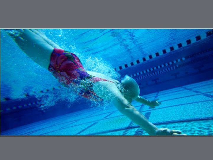 Bild: Emotional Schwimmerin