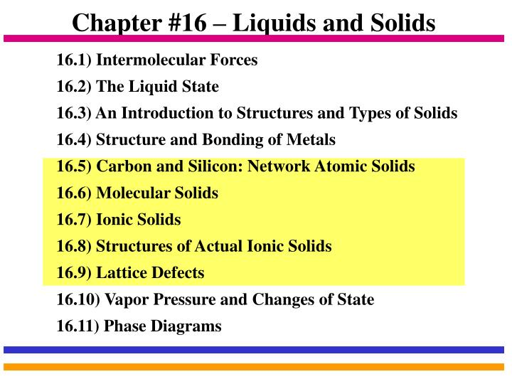 an analysis of liquids and solids Learn the four states of matter in the universe: solid, liquid, gas and plasma learn about the differences in shape and volume among the four.