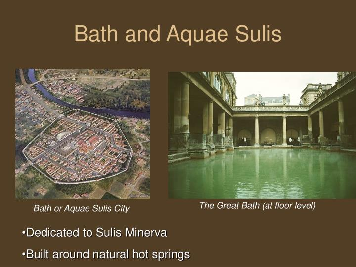 Bath and Aquae Sulis