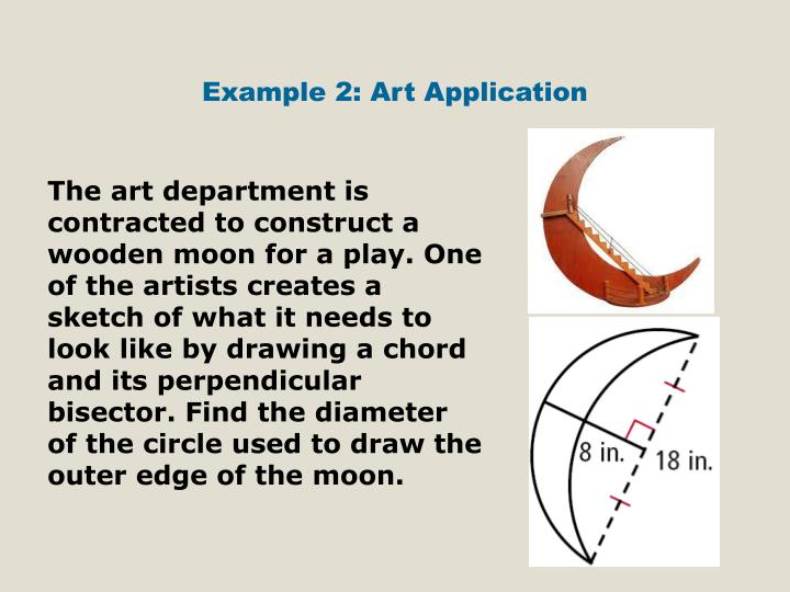 Example 2: Art Application