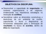objetivos da disciplina1