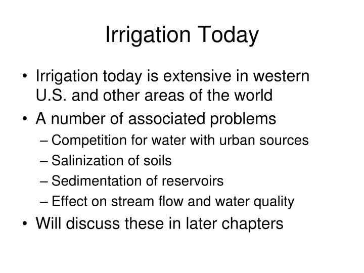 Irrigation Today