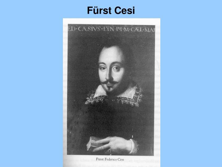 Fürst Cesi