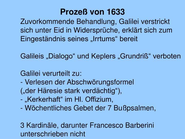 Prozeß von 1633