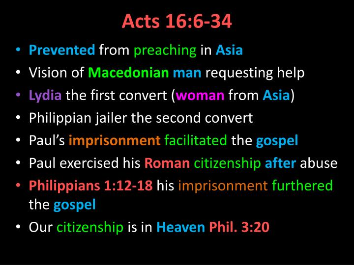 Acts 16 6 34