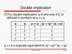 double implication