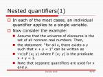 nested quantifiers 1