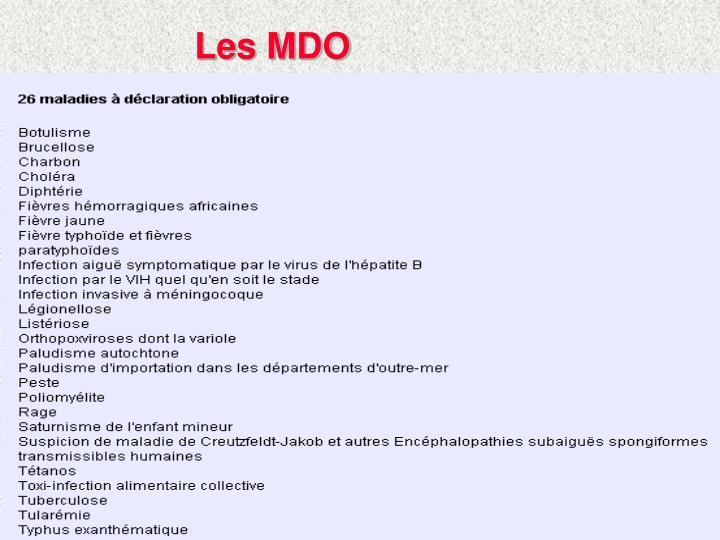 Les MDO