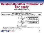 detailed algorithm extension of rfc 2697
