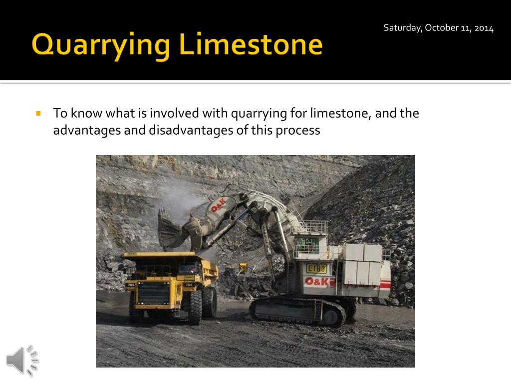PPT - Quarrying Limestone PowerPoint Presentation - ID:5404971