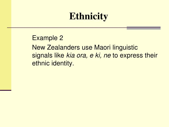 PPT - Sociolinguistics Chapter 8 Ethnicity and Social Networks ...