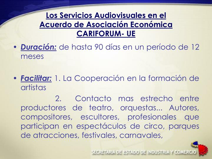 Los Servicios Audiovisuales en el