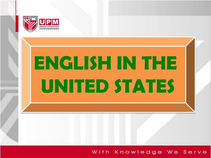 english in the united states n.