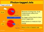 photon tagged jets