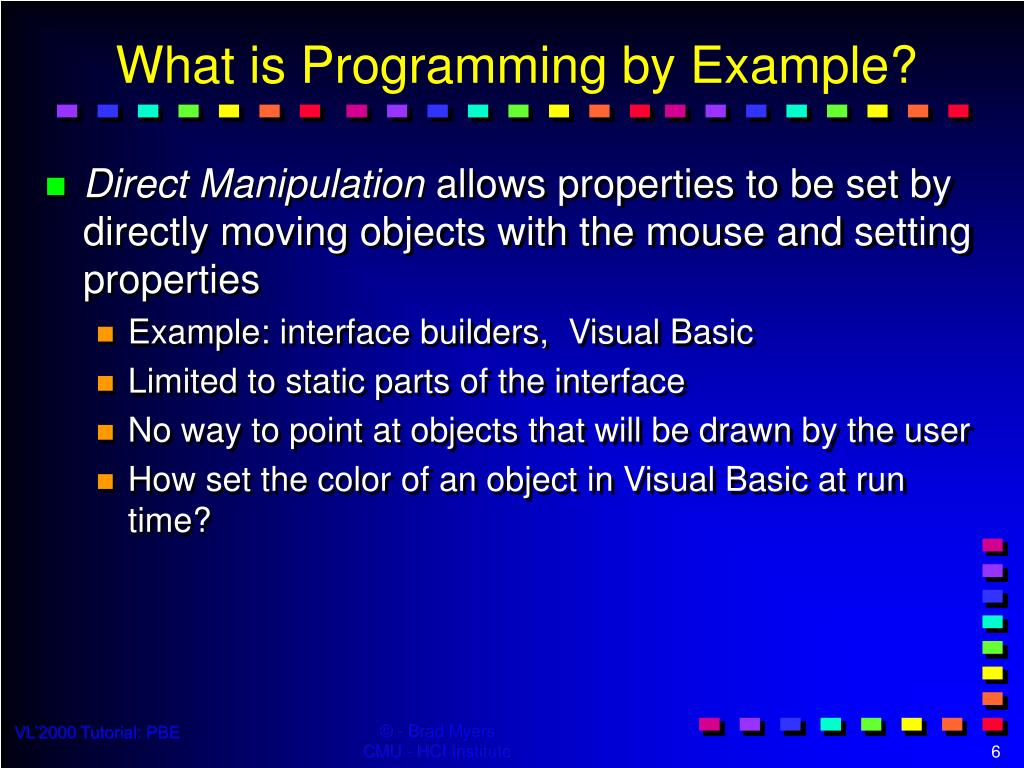 PPT - Tutorial T4 - Programming by Example Techniques PowerPoint