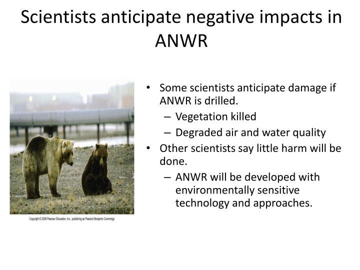 Scientists anticipate negative impacts in ANWR