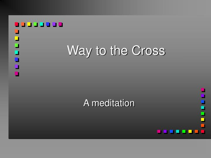 Way to the cross