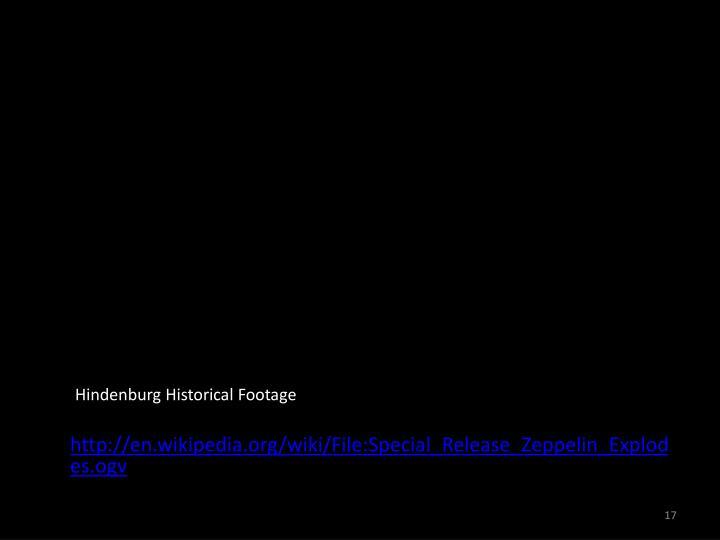 Hindenburg Historical Footage