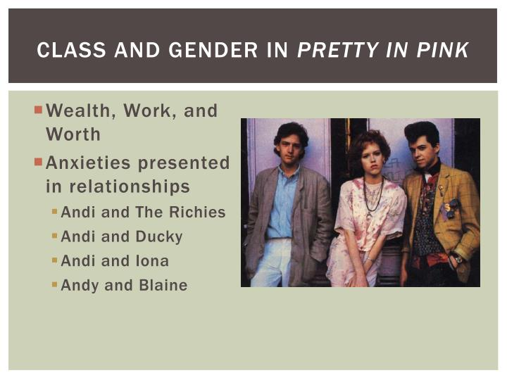 Class and Gender in