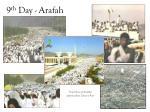 9 th day arafah