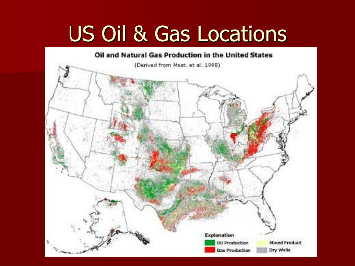 US Oil & Gas Locations