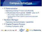 campus initiatives