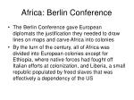 africa berlin conference1