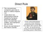 direct rule