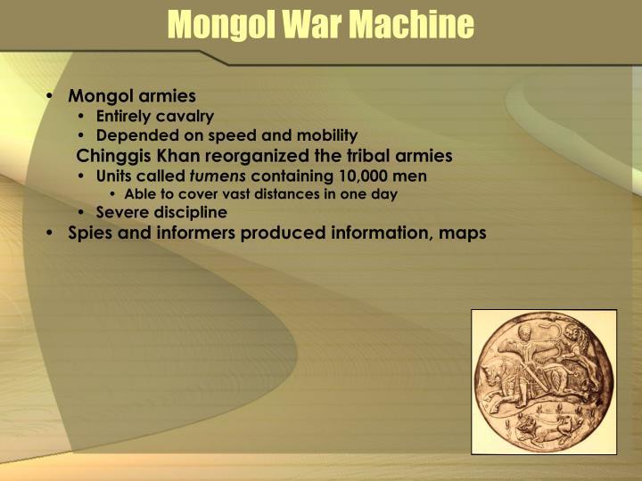 Mongol War Machine