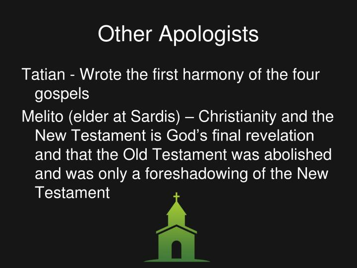 Other Apologists